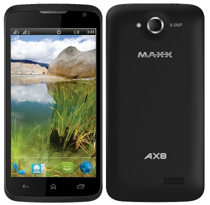 Maxx AX8 Specification...