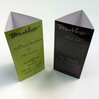 custom tent cards are stand up marketing tools