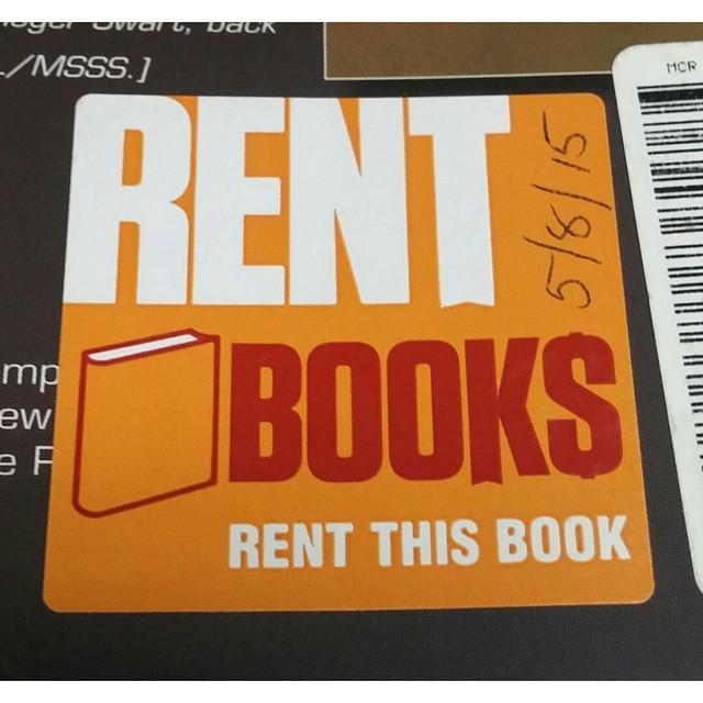 books on rent