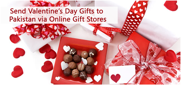 Send Valentine\'s Day Gifts to Pakistan via Online Gift Stores