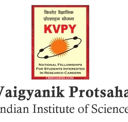 Application forms for KVPY