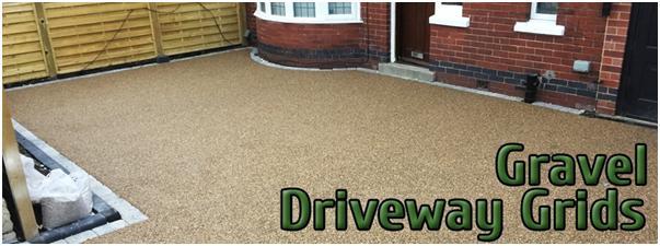 create gravel driveways