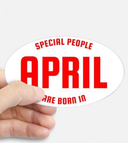 people Born In April