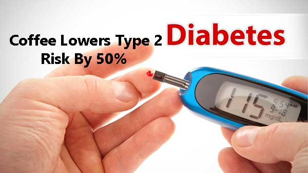 lower risk of type 2 diabetes