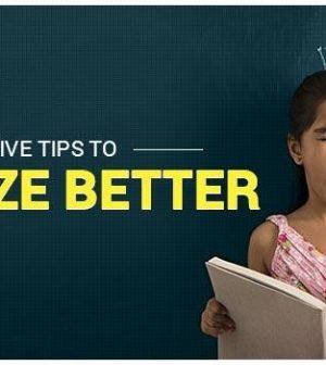 Memorize Better