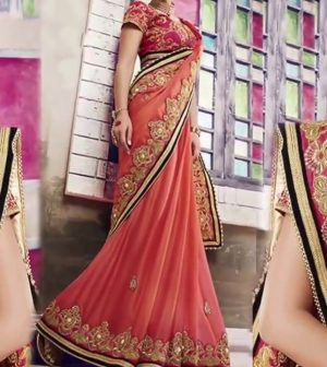 Ethnic Charm saree