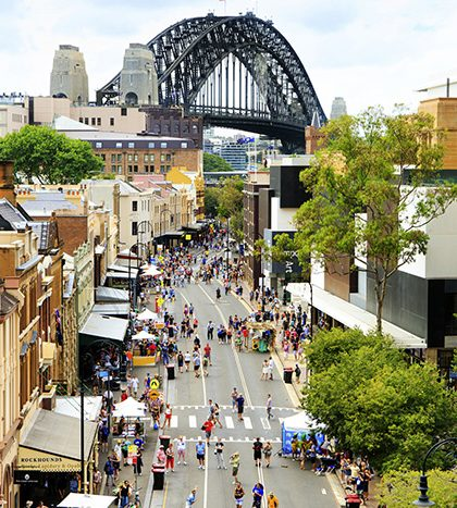 travel in Sydney