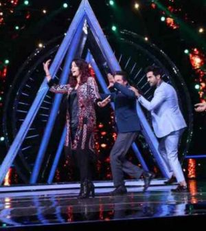 Aishwarya Rai Bachchan In Indian Idol 10