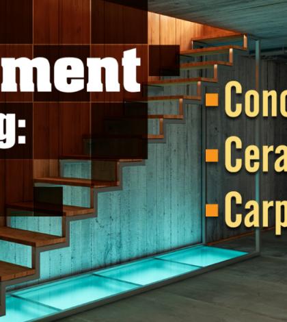 5 Basement Flooring