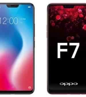 Vivo V9 vs Oppo F7