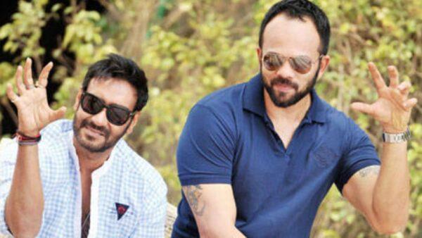Ajay Devgon and Rohit Shetty