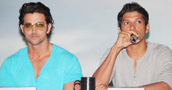 Hrithik Roshan and Farhan Akhtar