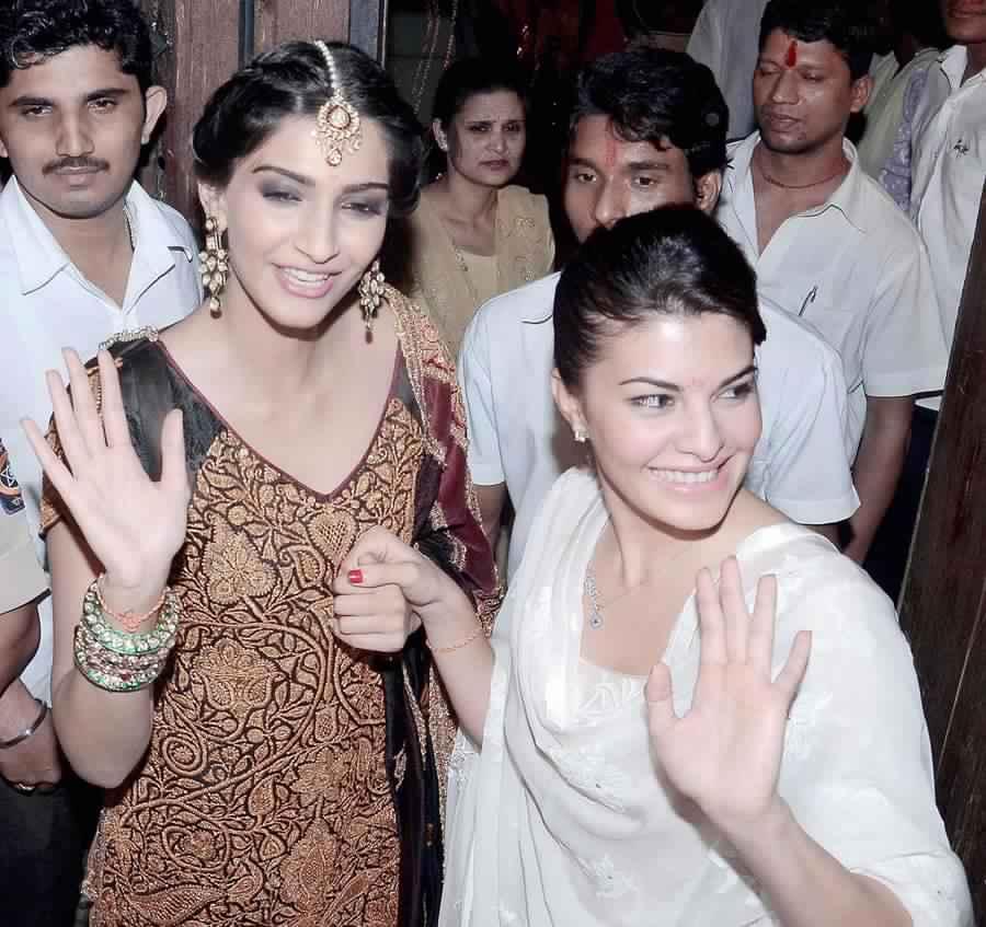 Jacqueline Fernandes and Sonam Kapoor
