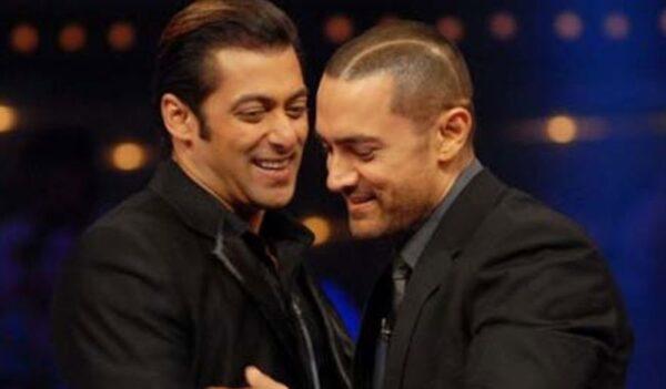 Salman Khan and Amir Khan