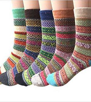 Women's woolen socks