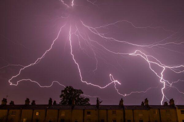 Cloud Lightning Detection