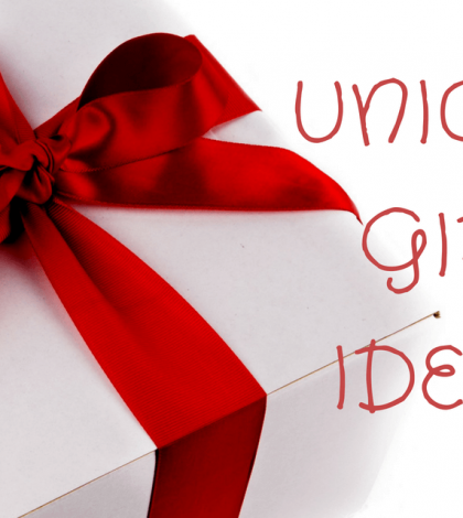 unique gifts ideas