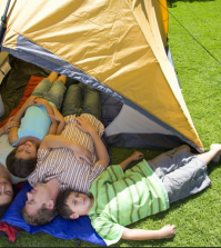 Going Camping With A Busy Family