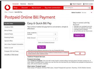 postpaid bill