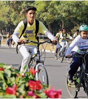 Cycling in Chandigarh