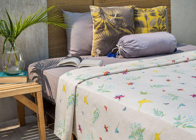 Botanical Bed Cover