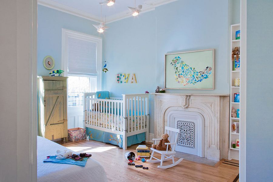 Soothing Nursery for Your Baby with Colourful Ideas
