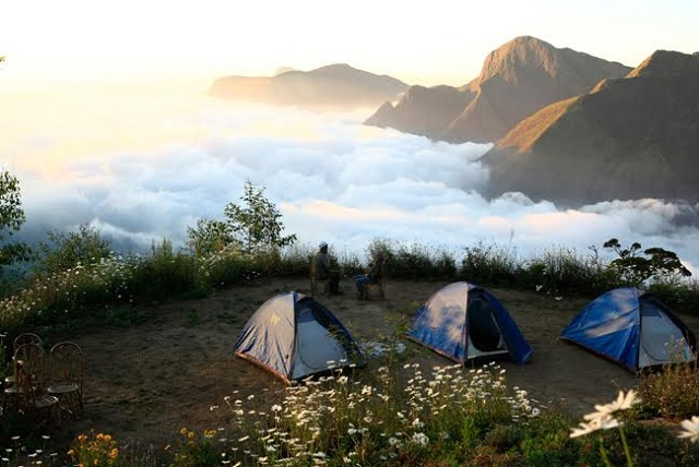 Camping At An Exotic Location
