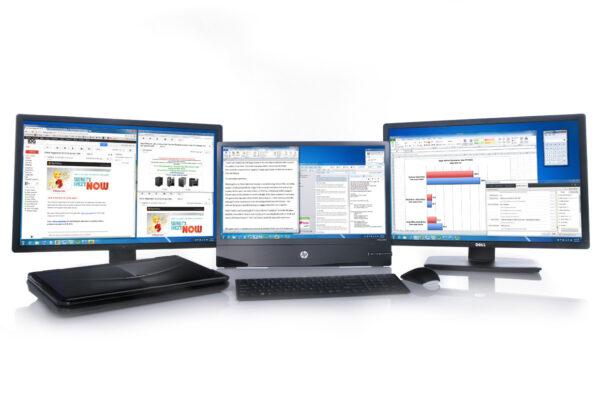 8 Free Dual Monitor Tools & Multi Computer Screens For Windows