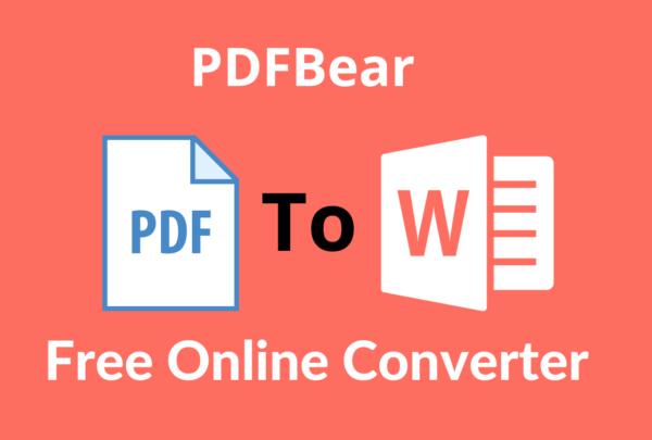 PDF Bear Online Tool