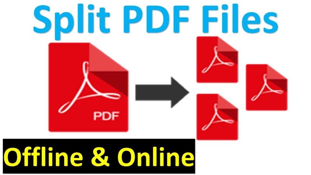 Splitting PDFs
