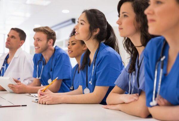 Aspiring Nurses Studying Online